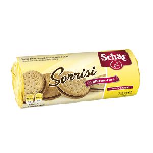 Galletas rellenas de crema de cacao - Sorrisi 250 g