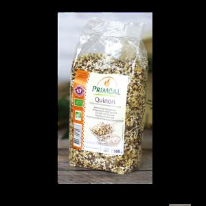 Quinori - Arroz integral y 3 quinoas 500 gr