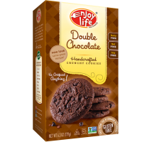 Galletas crujientes de doble chocolate