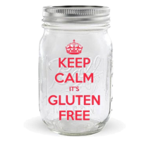 Mason Jar Keep Calm 32 onzas