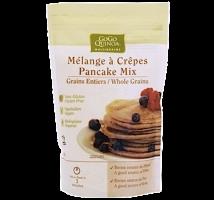 Harina para hotcakes orgánica integral sin azúcar