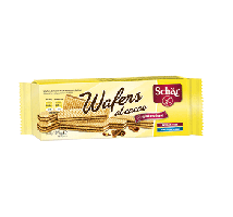 Wafers con chocolate